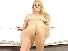 Hot Milf fucking herself with