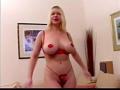 french blond mature with big s
