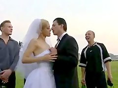 Bride public fuck after weddin