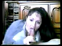 aunty sucks my cock