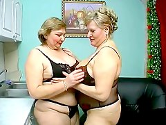 two old chubby mature have wil