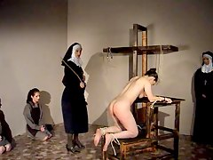 Nun gives a girl 50 lashes wit
