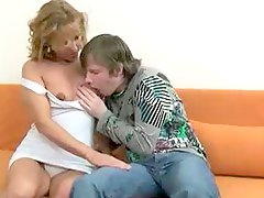 Hot mom likes his fresh young