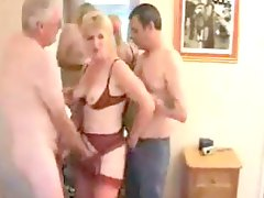 Mature wife and hubby joined b