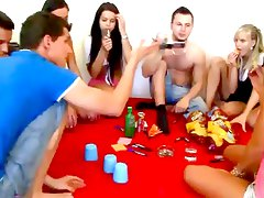 Real college party sex spinner