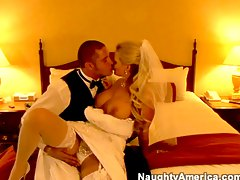 He fucks his new bride