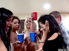 Fucking and drinky at party