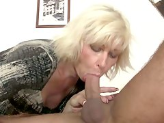 Granny mother-in-law fucks dau