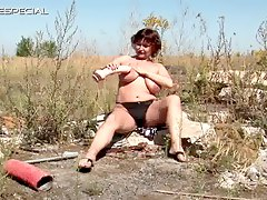 Hairy puss hitch hiking milf i