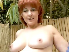 Hot red head slut that loves p