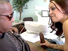 hot dentist sucks big black di